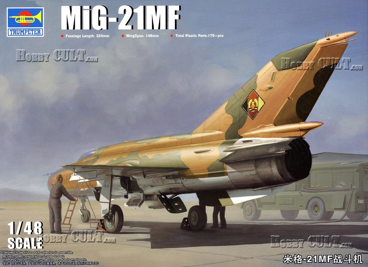 1:48 Mikoyan-Gurevich MiG-21MF 'Fishbed-J'